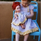 "15"" Baby Doll Dress and Pattern"