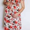 Maternity Floral Knit Dress