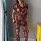 Flattering Post-Partum Pounds & DIY: The Jumpsuit
