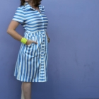 Flattering Post-Partum Pounds & DIY: The Shirtdress