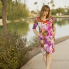 Watercolor Denver Dress