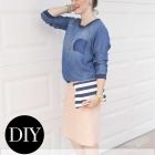 Easy Flat-Front Skirt Tutorial