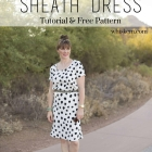 Spotted Sheath Dress DIY