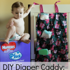 DIY Diaper Caddy: Simplify Motherhood