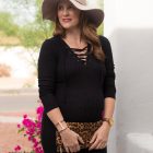 Knit dresses: a maternity essential