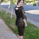 DIY Sequined Party Dress