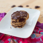 Almond oatmeal chocolate Cookies (my favorite!)