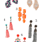 Statement Earring Roundup