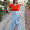 Ruffle Skirt DIY