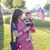 Patriotic Dress and Blanket-Tote