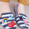 DIY: Embroidered Shoes
