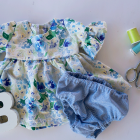 Bell Sleeve Baby Dress DIY