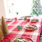 Christmas Tablescape with Cricut