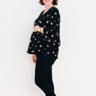DIY Flowy Top for Pregnancy