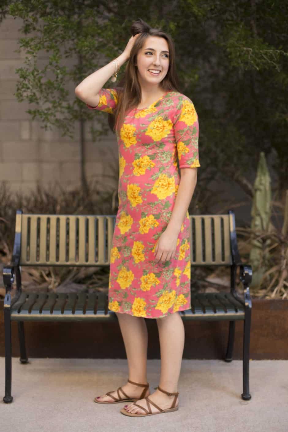 Free Shirt Dress Sewing Pattern The Perfect Women S Knit